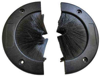 round brush grommet split